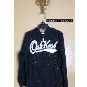 OshKosh Glitter Logo Hoodie